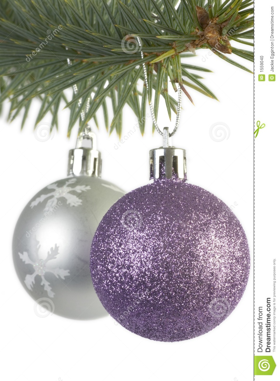 Christmas tree decorations purple and silver - Silver And Purple Christmas Decorations