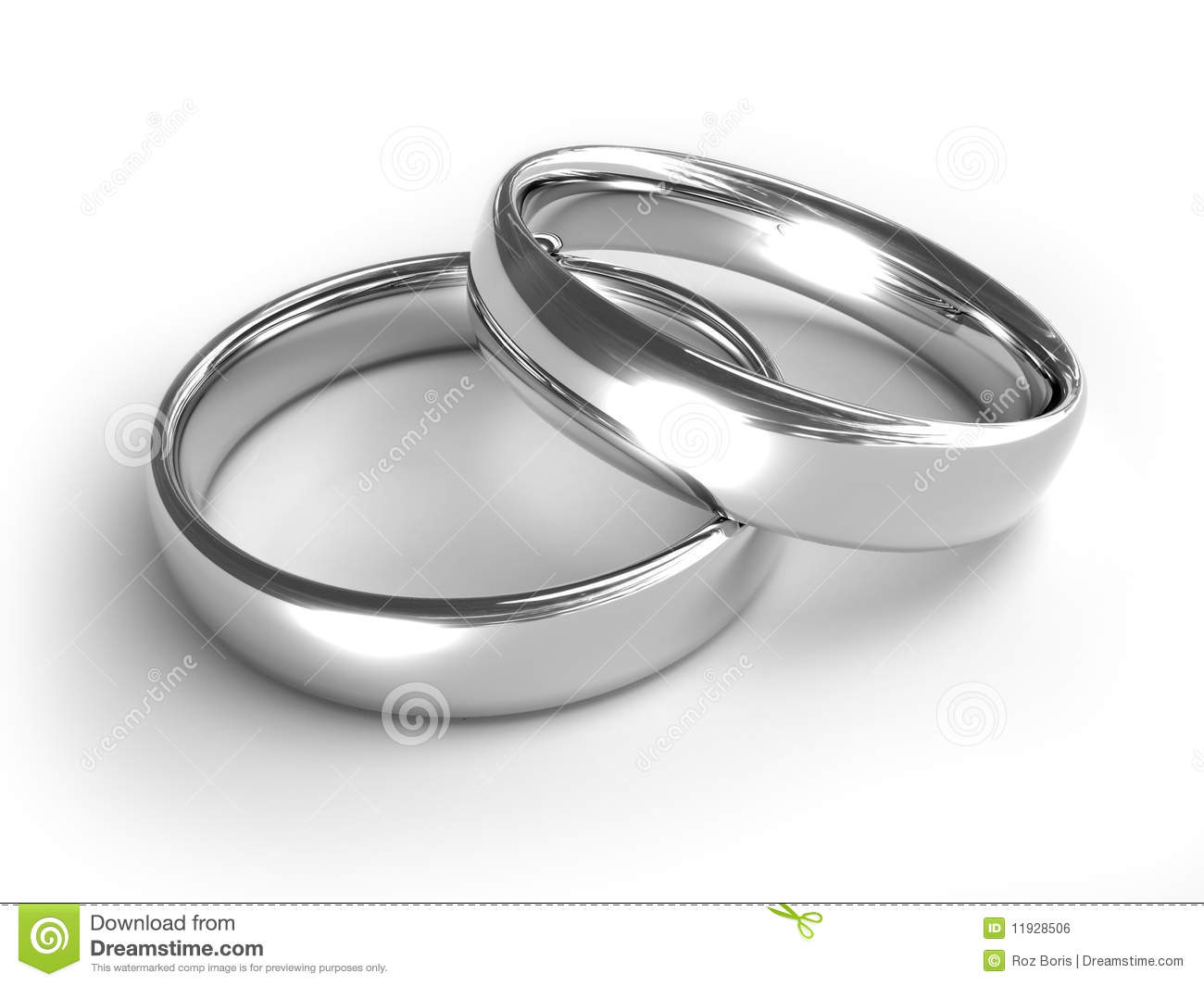 Silver Rings Royalty Free Stock Image - Image: 11928506