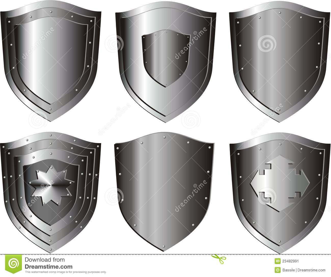 Shield design set royalty free stock photos image 5051988 - Silver Shield Set Stock Image Silver Shield Clipart