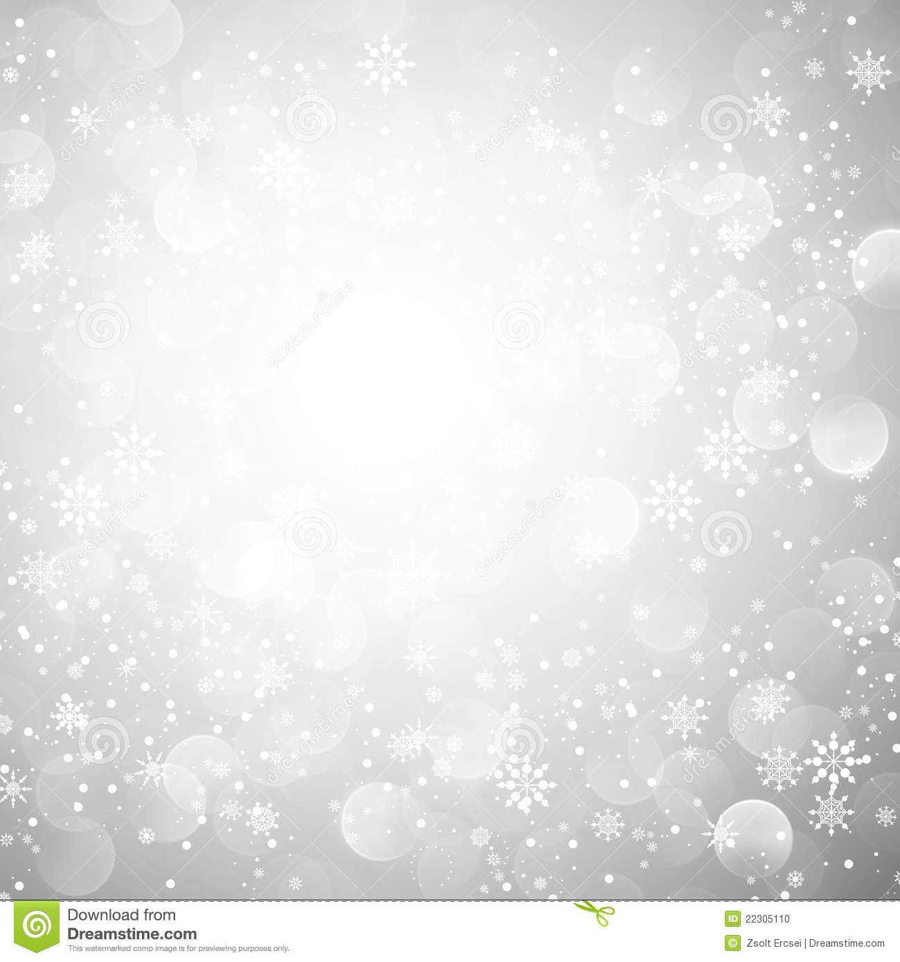 Silver snowflake christmas background stock vector illustration of focus holiday 22305110 - Wallpaper 600x600 ...