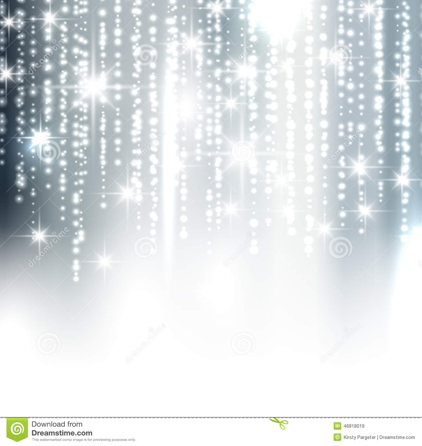 silver sparkle christmas background stock vector
