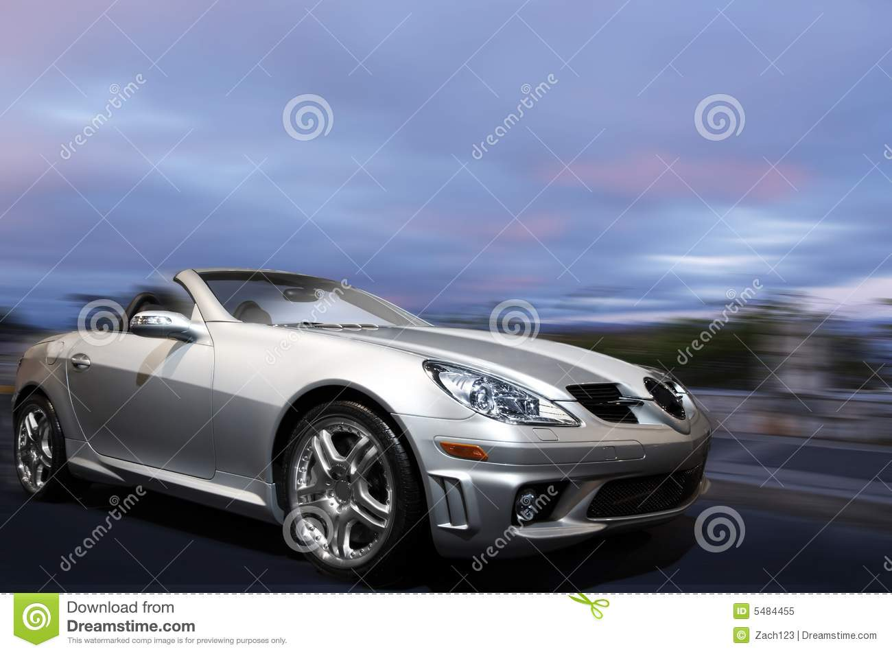 Silver sports car stock image. Image of silver, expensive ...