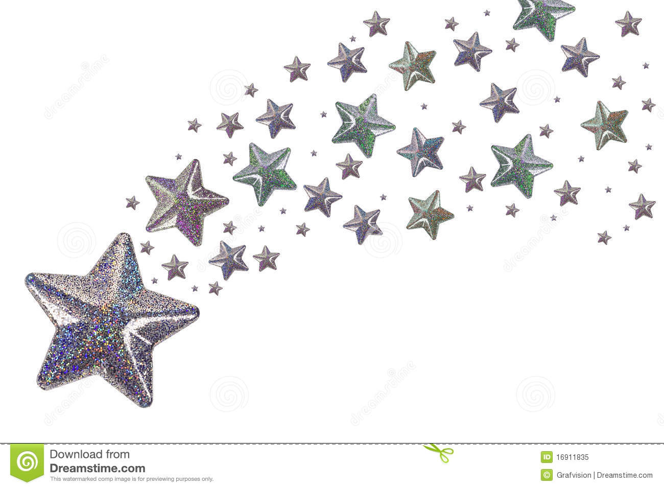 Silver Stars Royalty Free Stock Photo - Image: 16911835