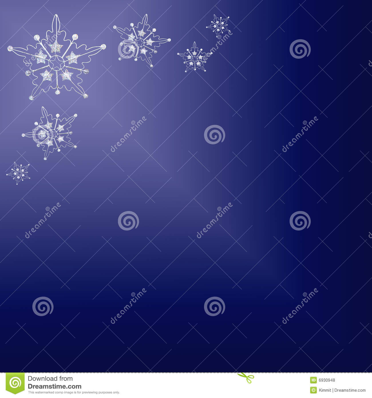 Silver Stars On Blue Background Stock Photo Image Of