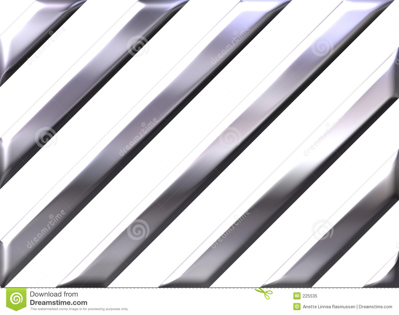 Silver stripes on white background