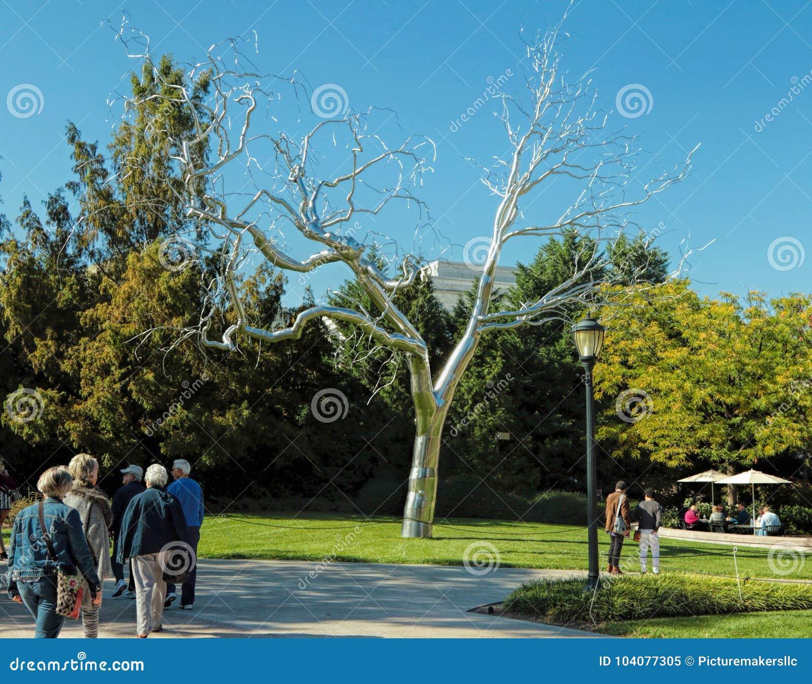 Silver Tree, National Gallery Of Art,Washington, DC