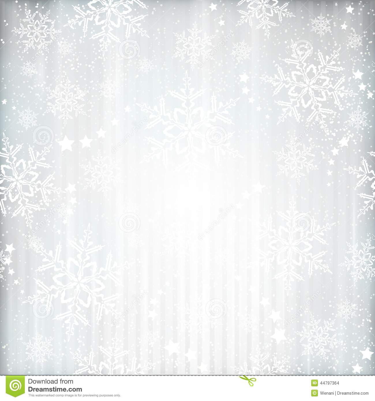 Winter christmas background with snowflake star pattern stock vector
