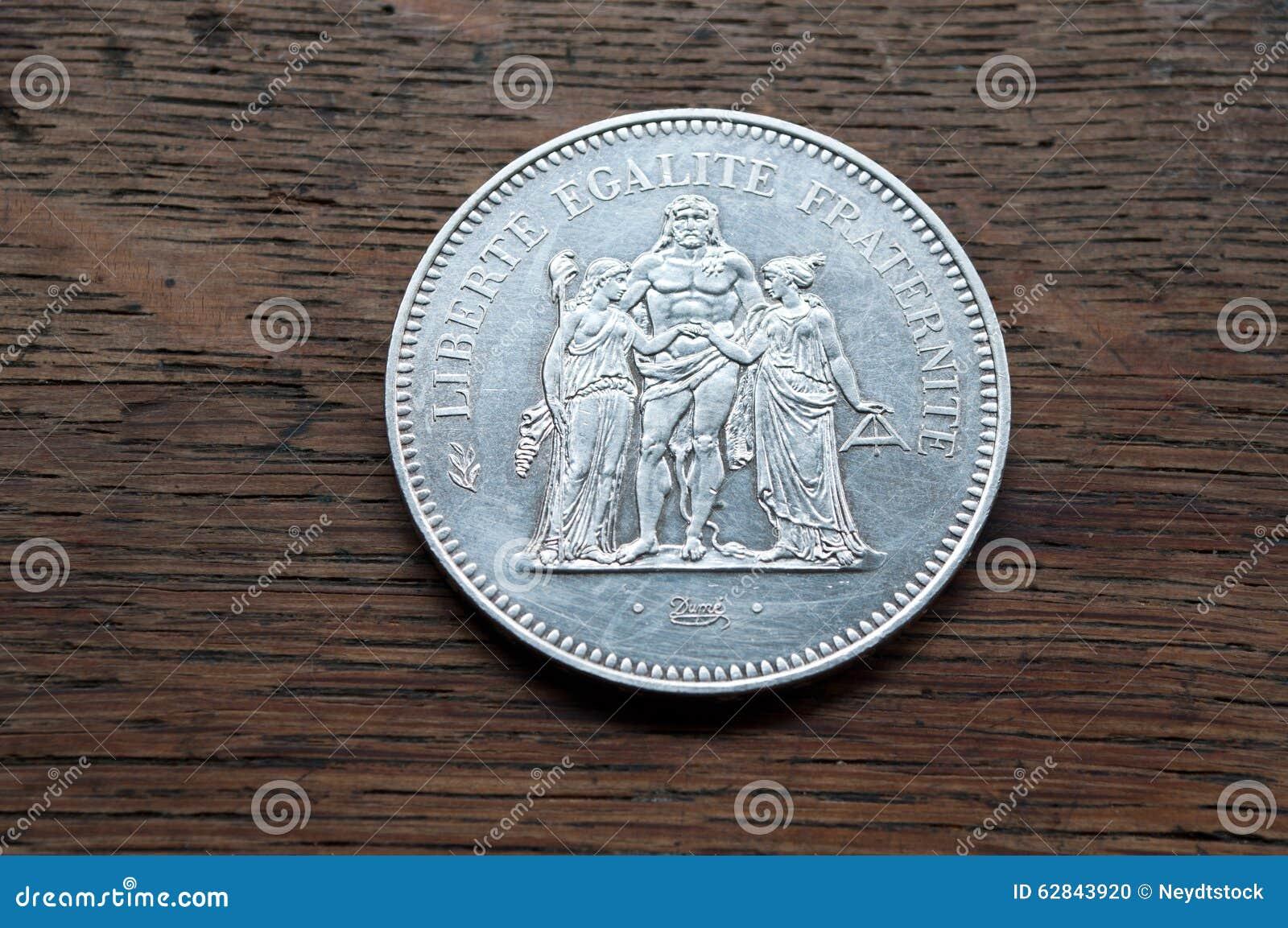 Silvermynt av 50 franc