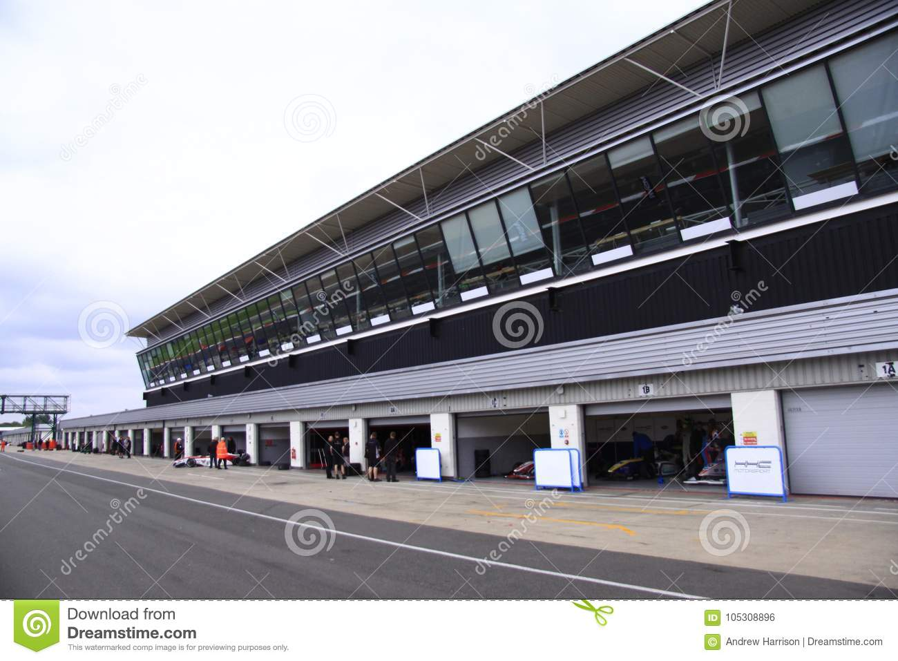 Silverstone Cicuit, England. Editorial Photo - Image of circuit ...