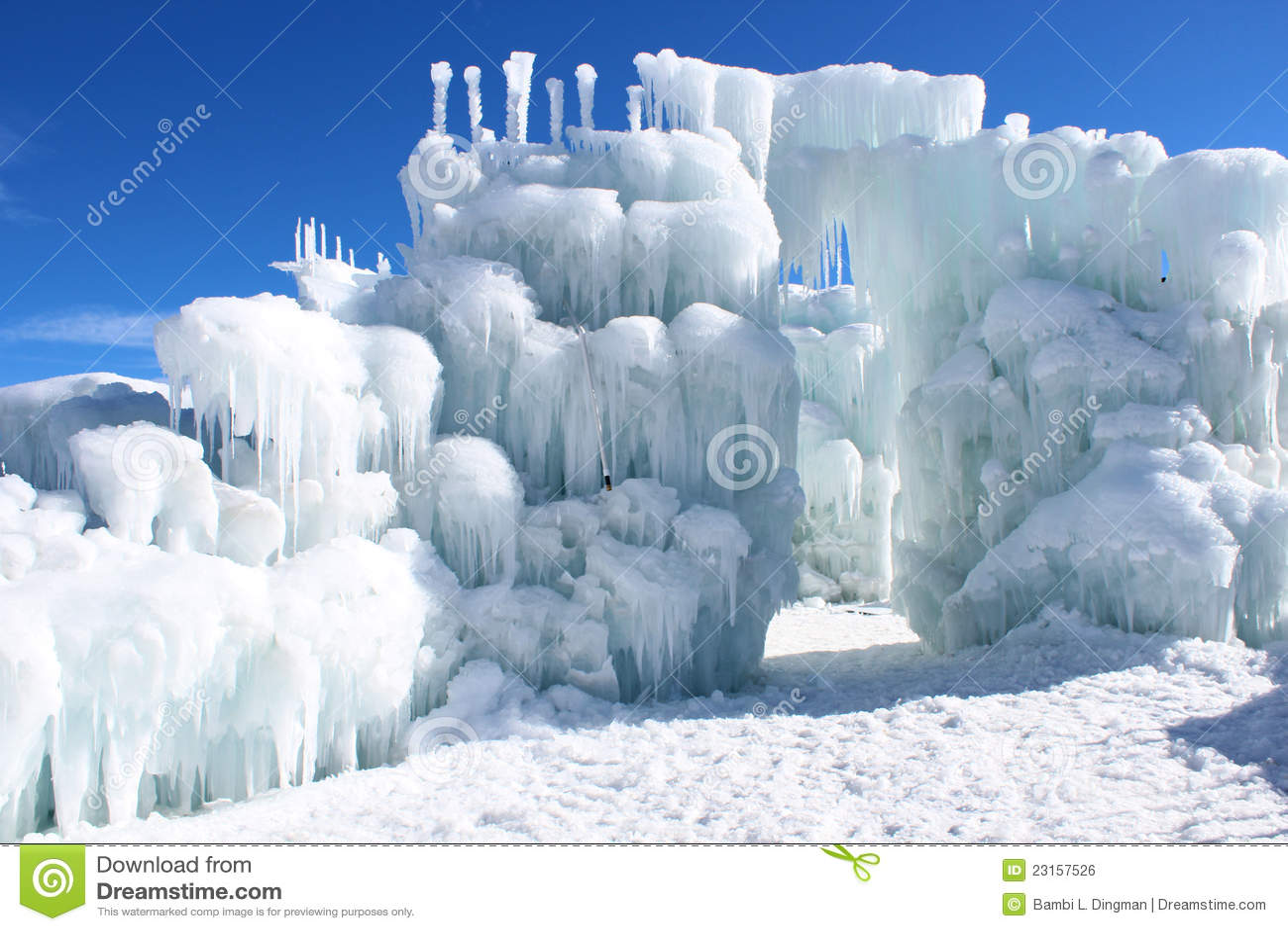 Silverthorne Ice Castles