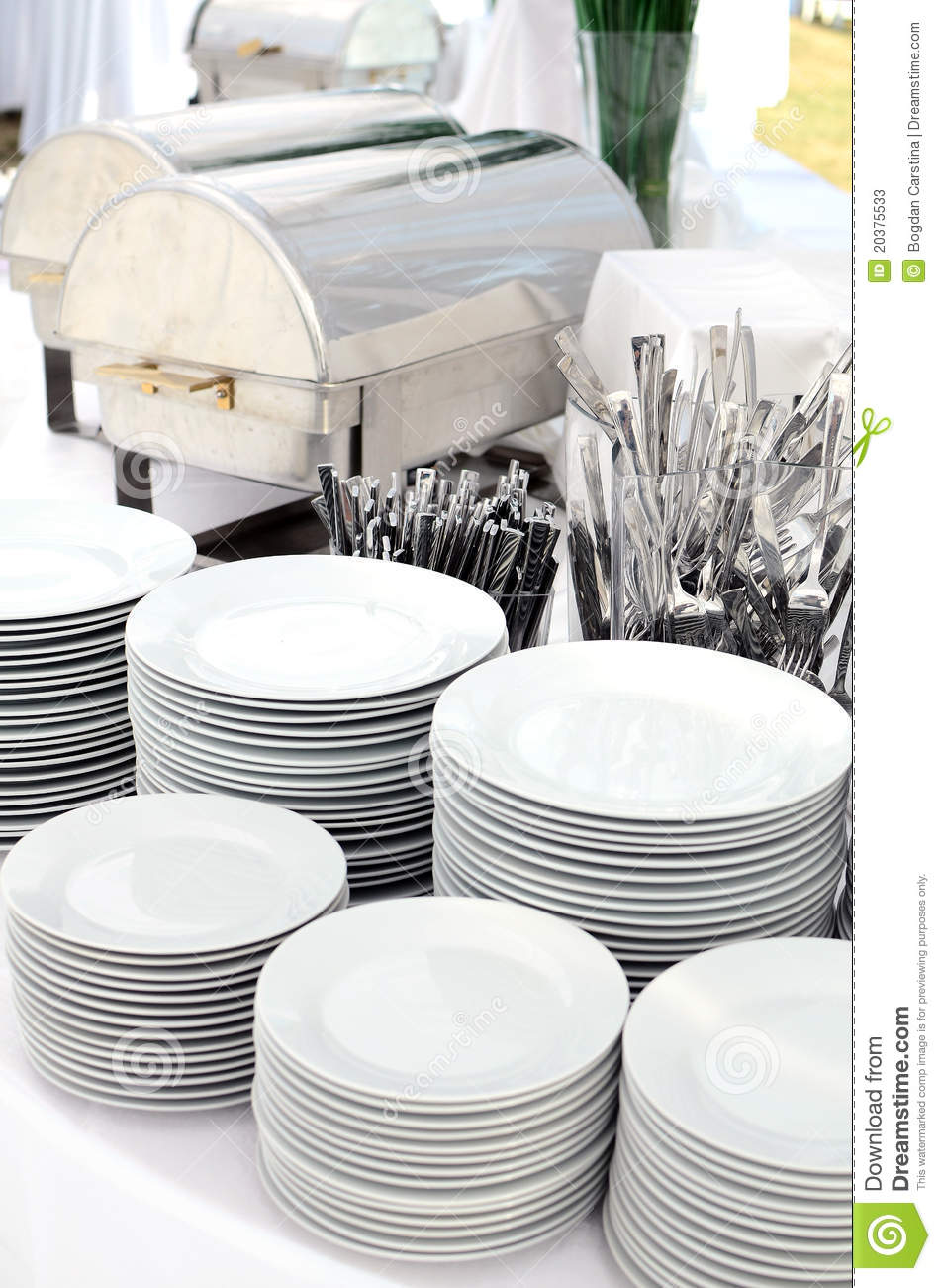 Silverware and dishware