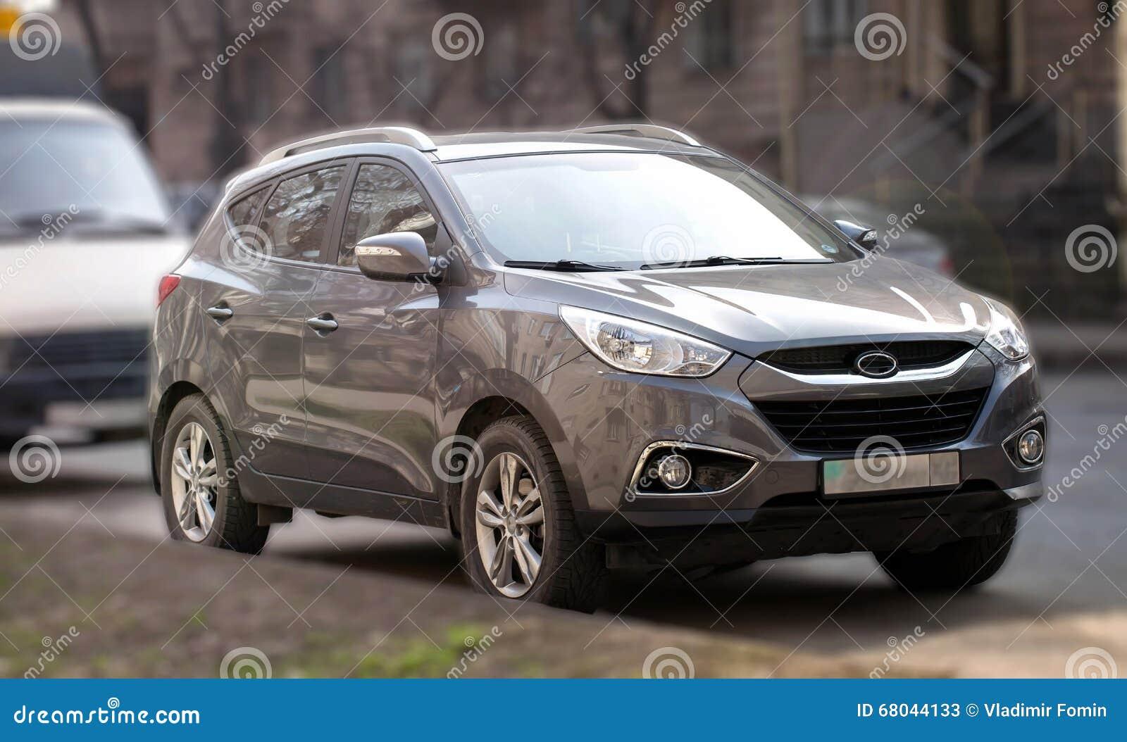 Silvery Car.