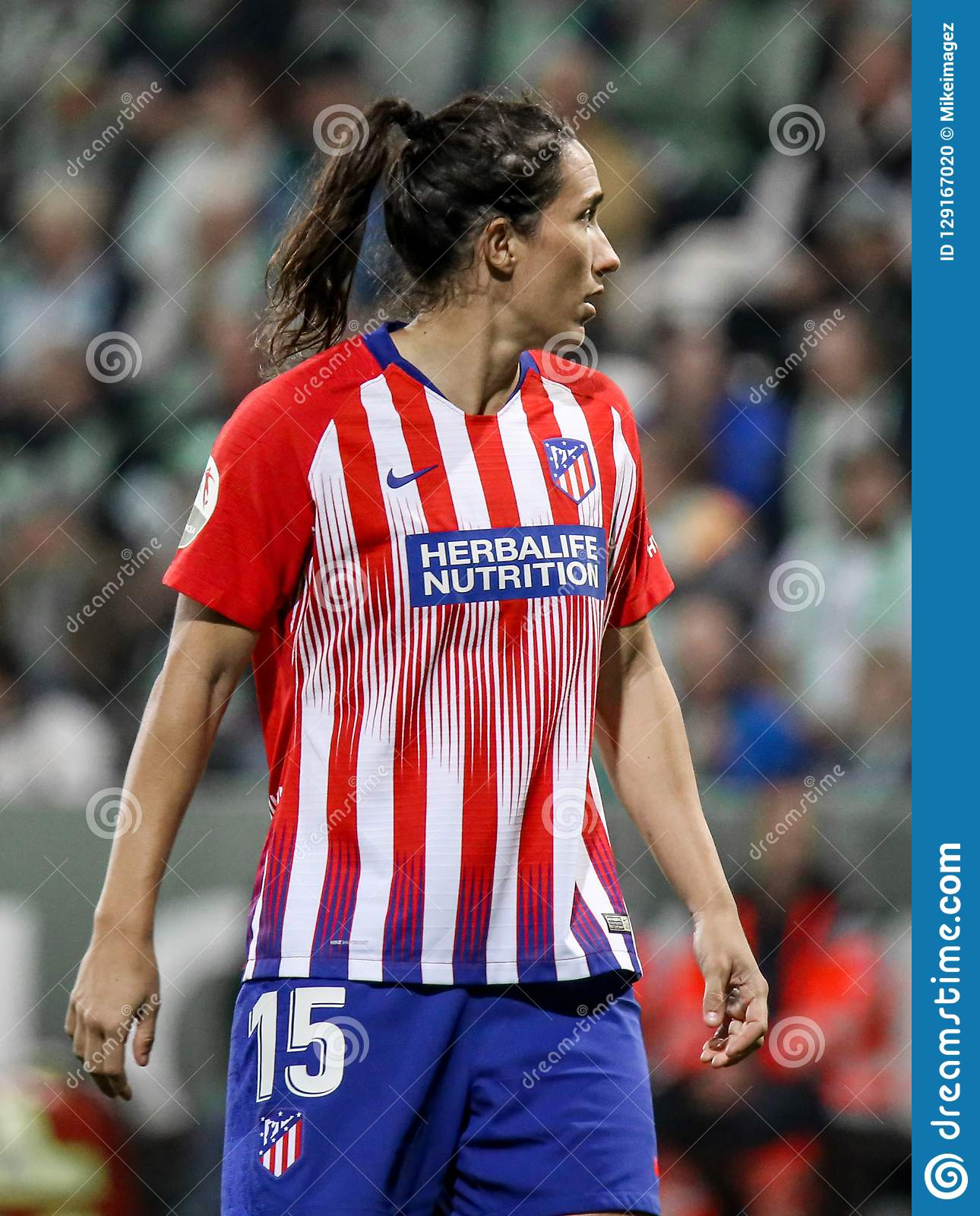 Champions League Womens: Silvia Meseguer Bellido During A UEFA Soccer Match