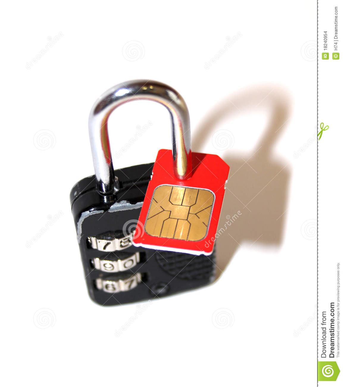 SIM-lock stock photo. Image of free, contract, mobile ...
