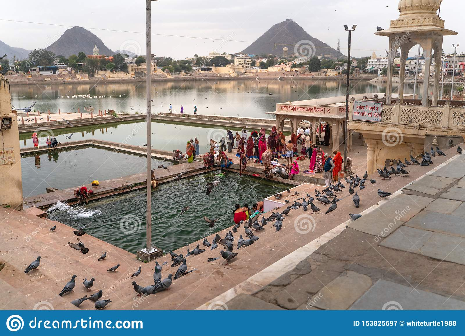 Simbassängerna i Pushkar