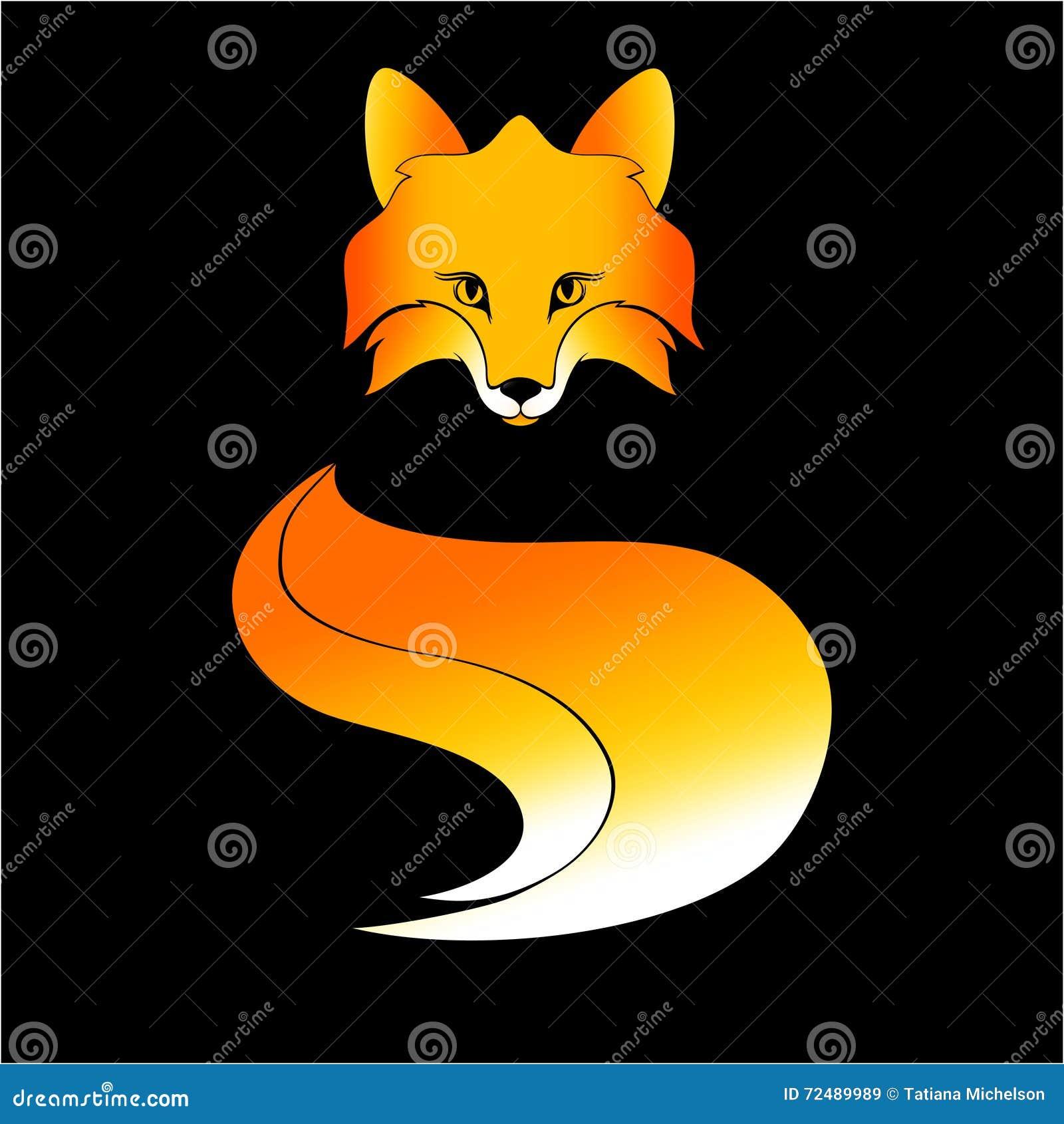 Simbol красной лисы