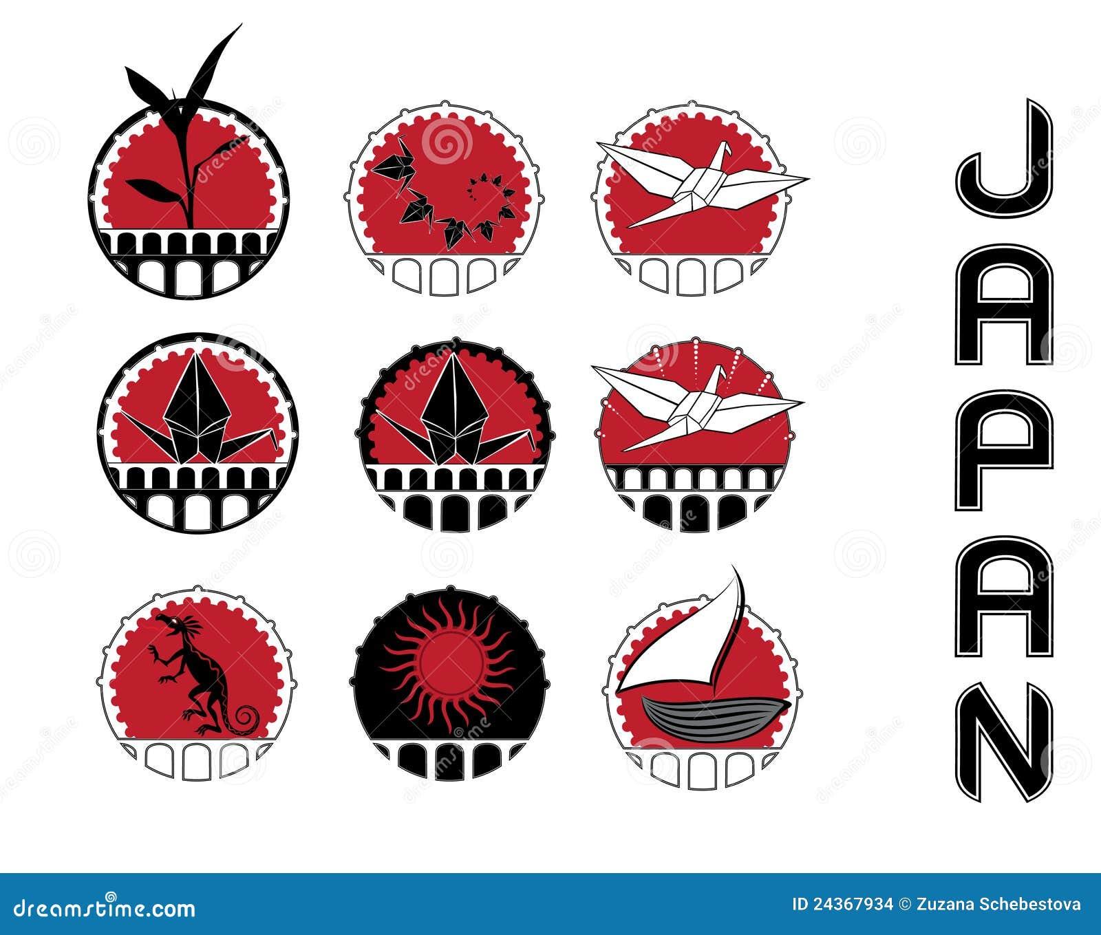 Simboli di disegno della coltura del giappone immagini for Architettura tradizionale giapponese