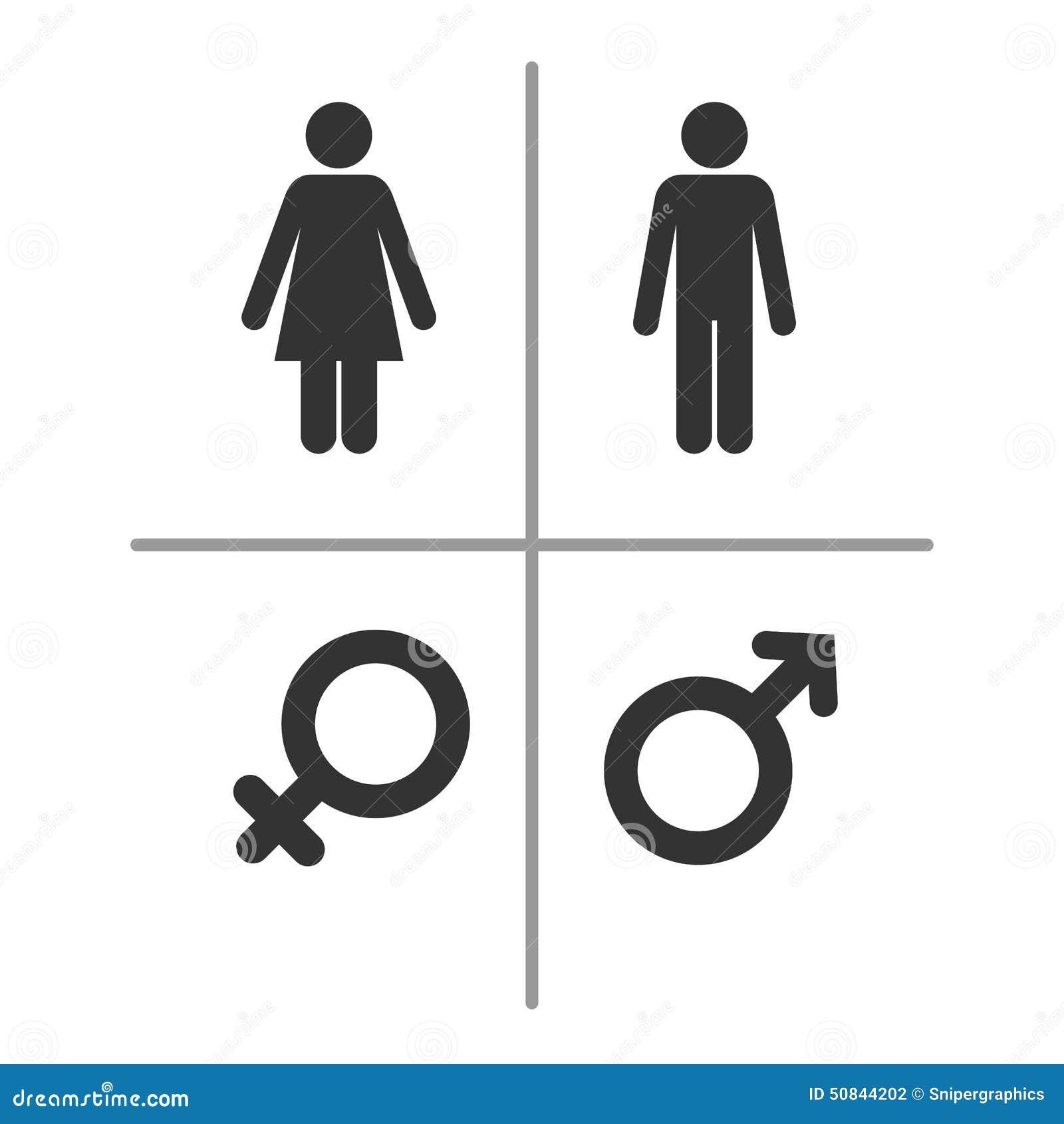 Simboli maschii e femminili
