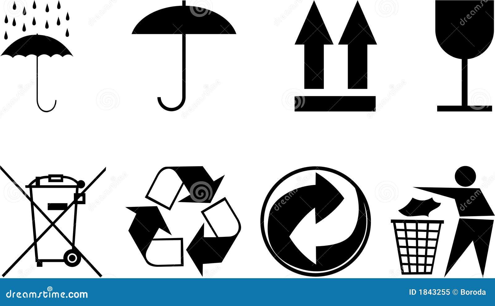 Simboli per gli oggetti dell 39 imballaggio immagine for Programmi per progettare oggetti