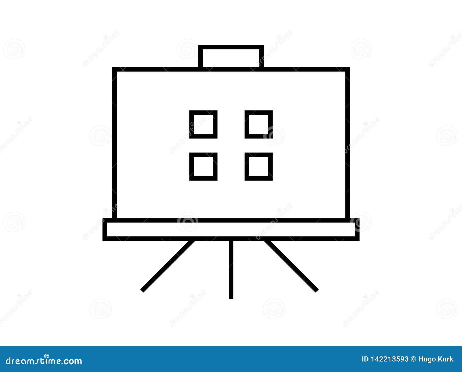 Simbolo del bordo di presentazione