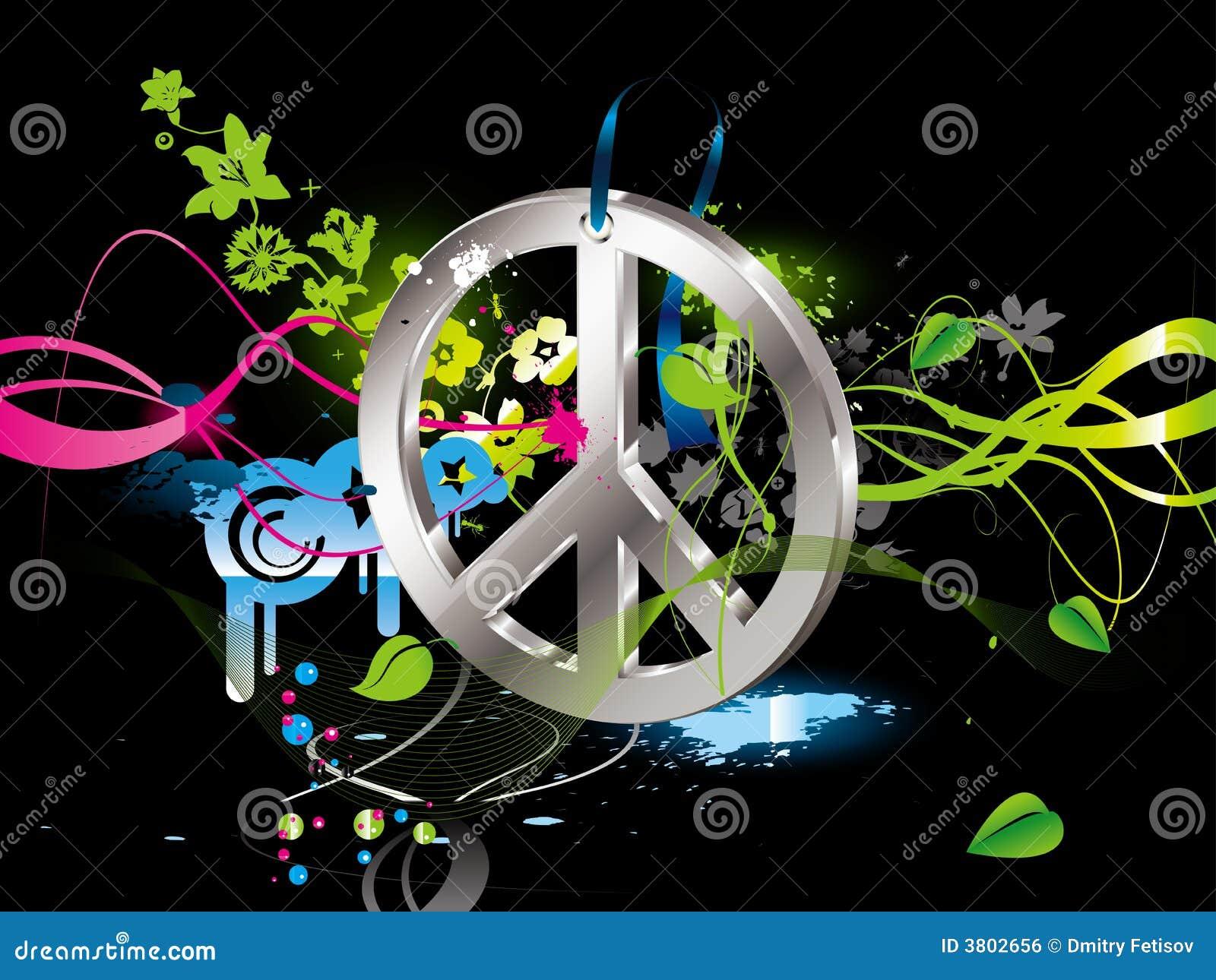 Simbolo Del Hippie Immagine Stock Libera Da Diritti