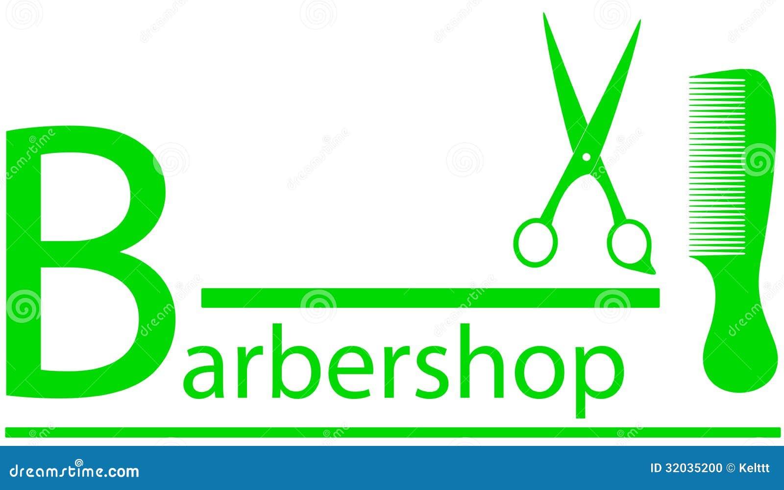 Simbolo del parrucchiere con le forbici ed il pettine for Simbolo barbiere