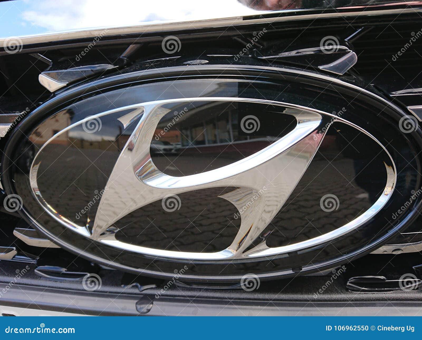 Simbolo dell automobile di Hyundai