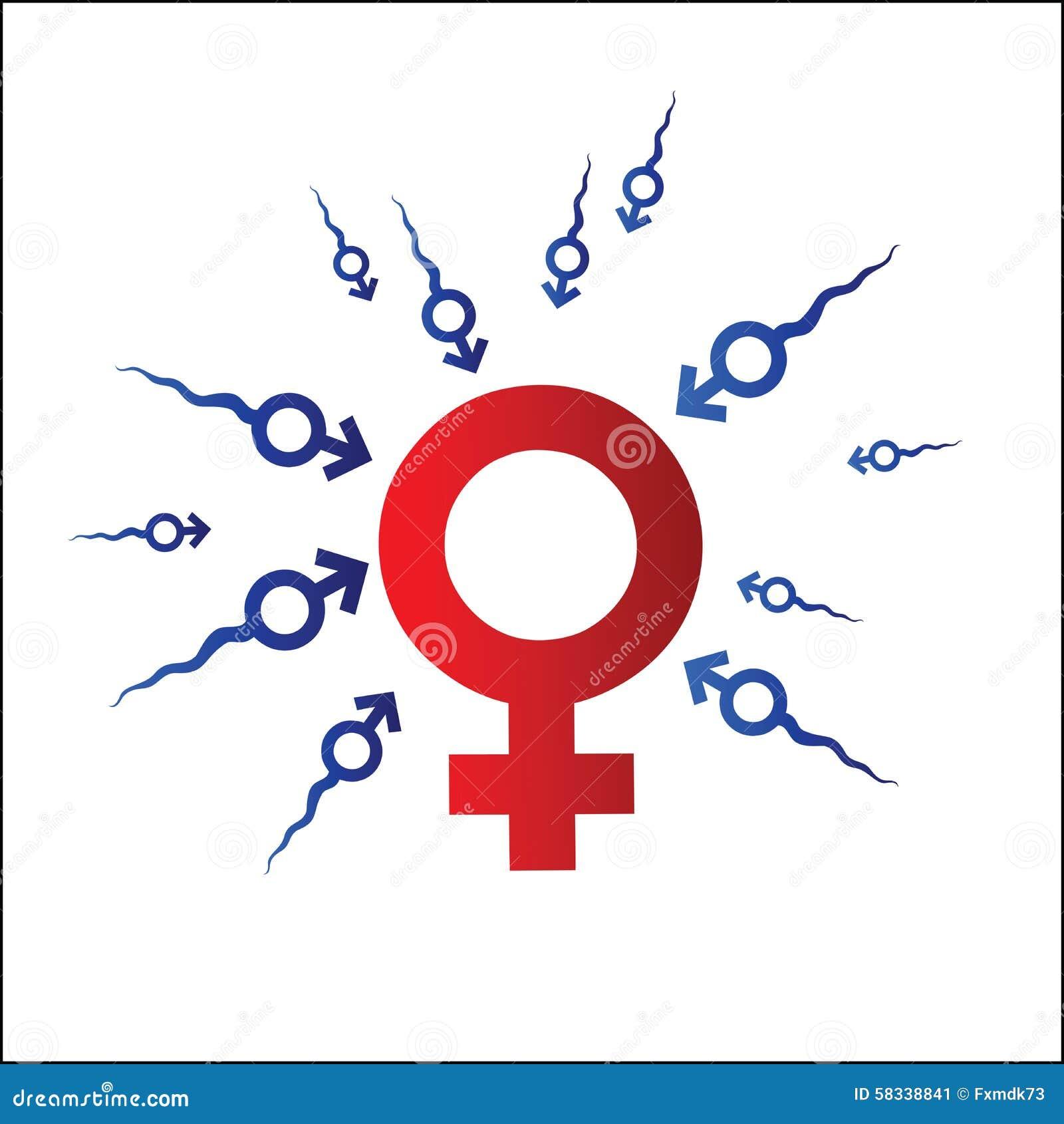 Simbolo dell uomo e della donna foto stock iscriviti gratis for Planimetrie della caverna dell uomo