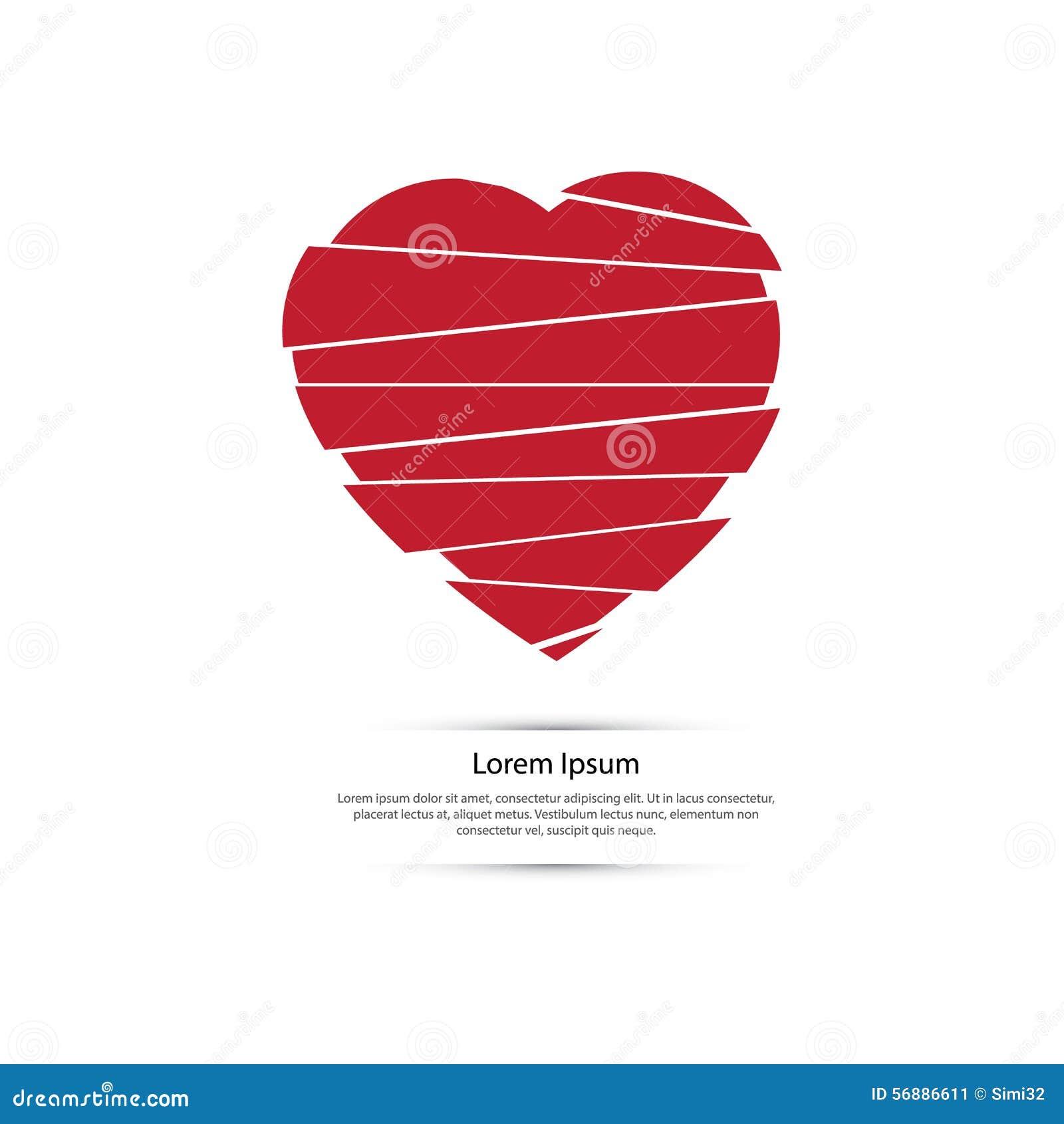 Simbolo di amore - cuore