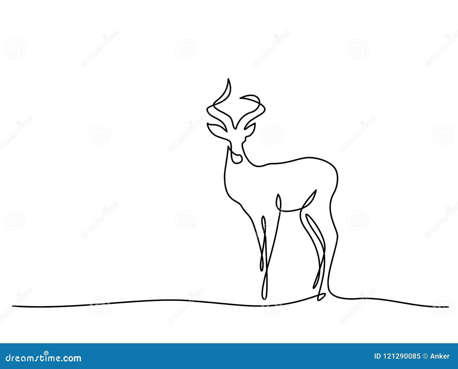 Simbolo di camminata dell impala