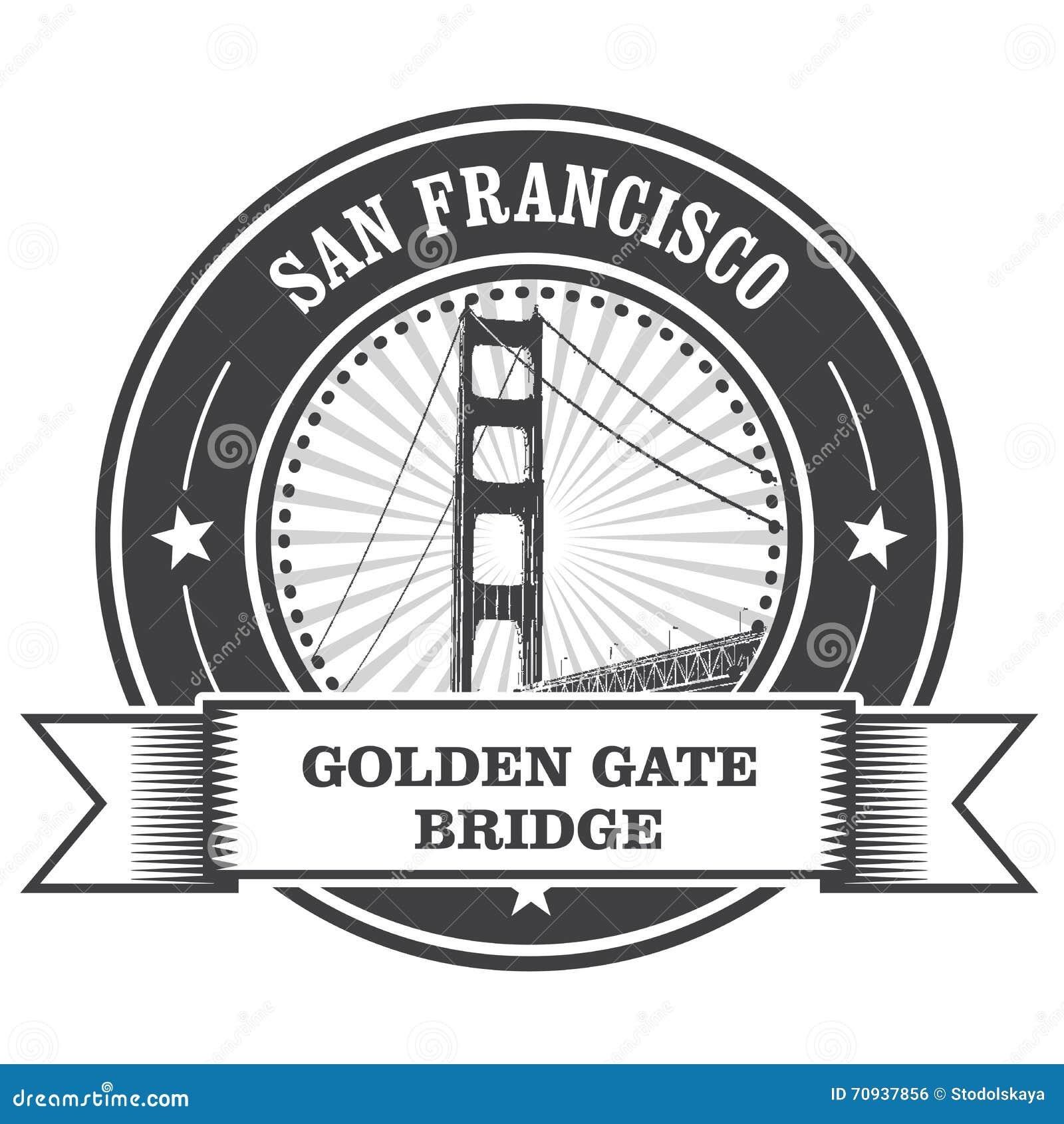 Simbolo di San Francisco - golden gate bridge