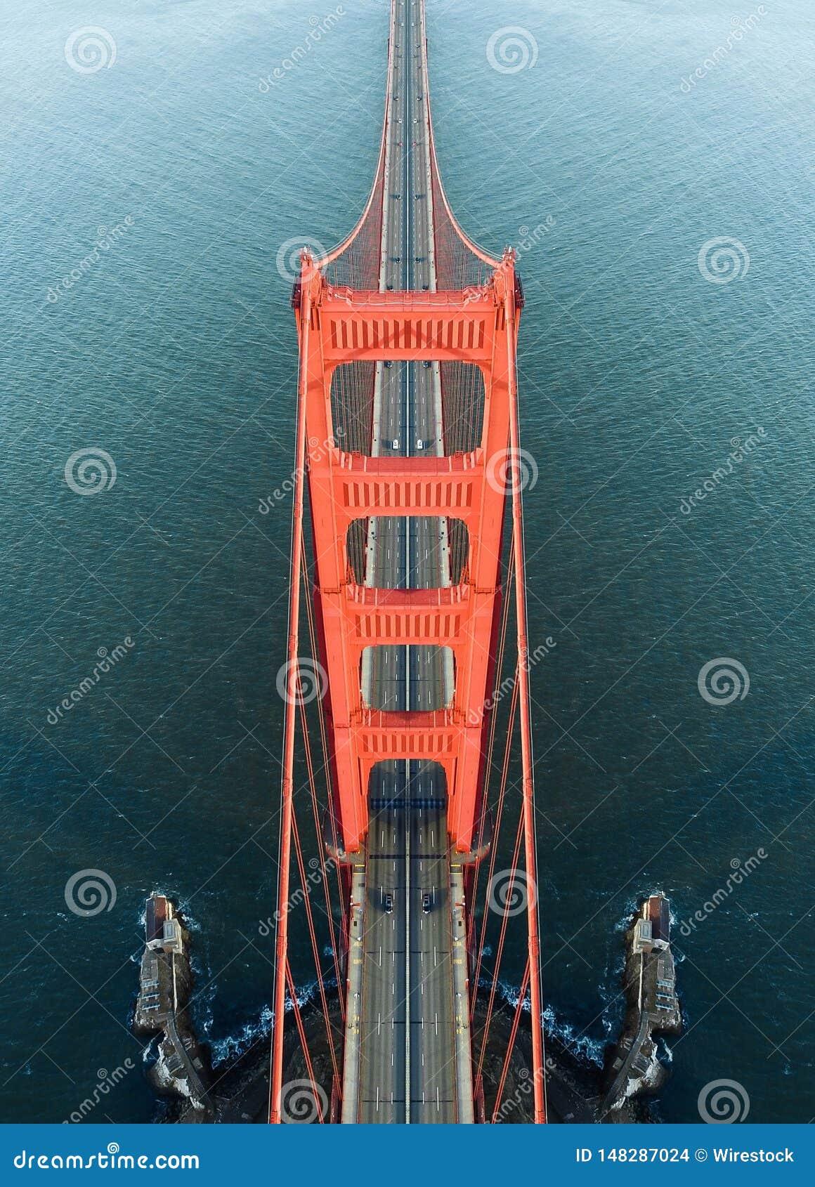 Simetría de puente Golden Gate