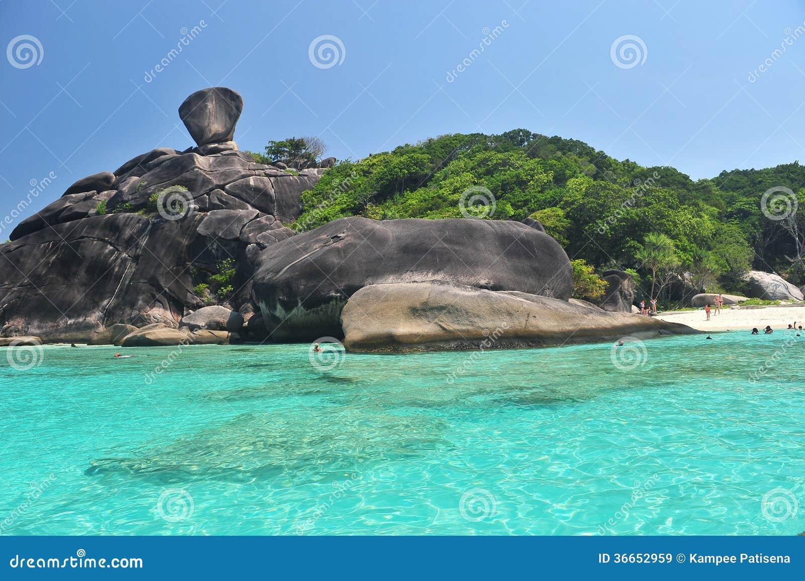 SIMILAN, PHANG NGA, THAILAND Editorial Stock Image - Image: 36652959