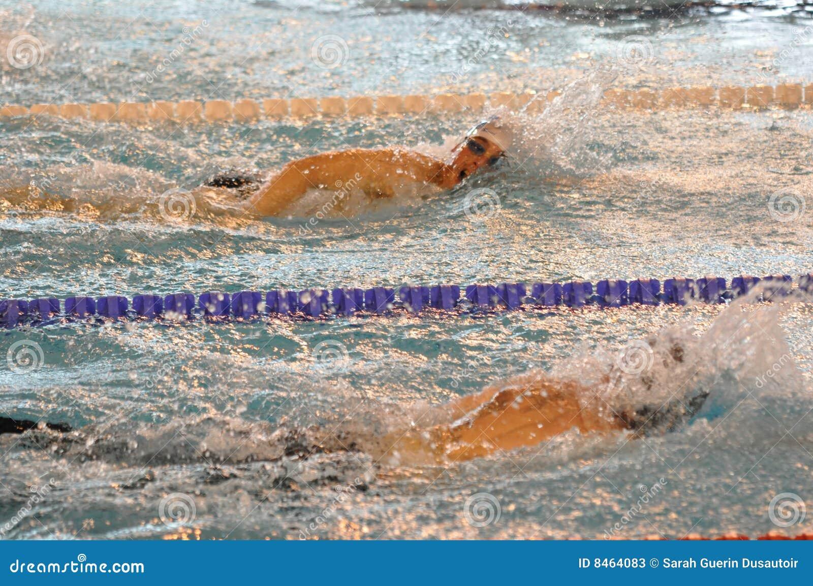 Simma för simmare för krypande främre