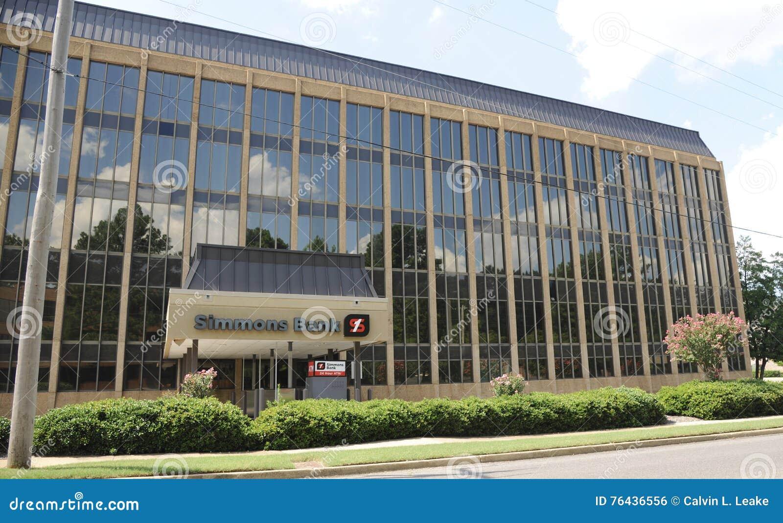 Simmons banka budynku szeroki kąt