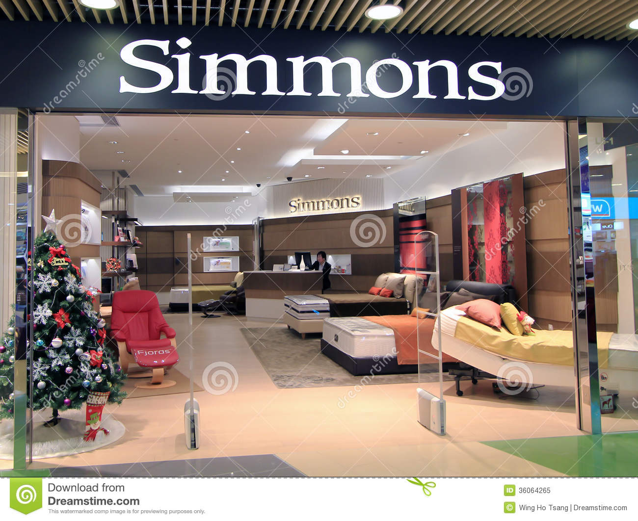 simmons shop in hong kong editorial image image 36064265