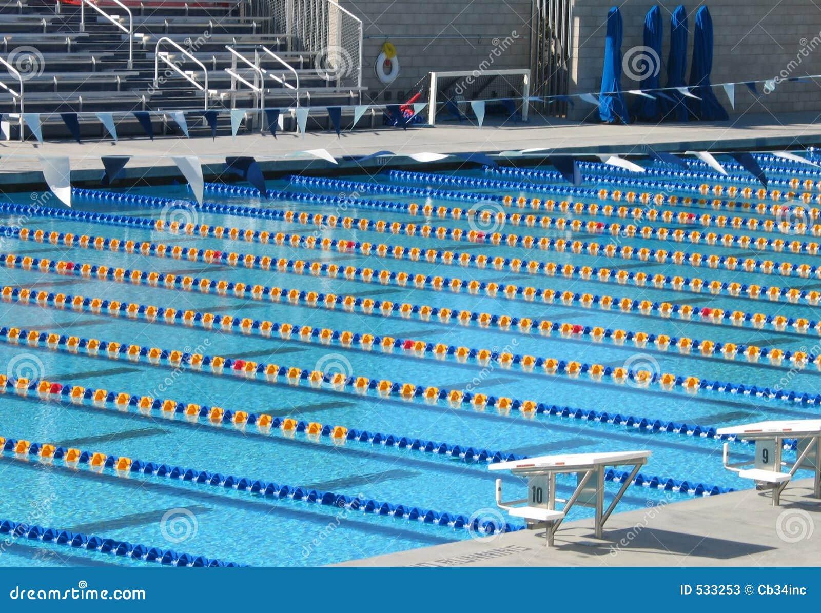 Simning för 2 pöl