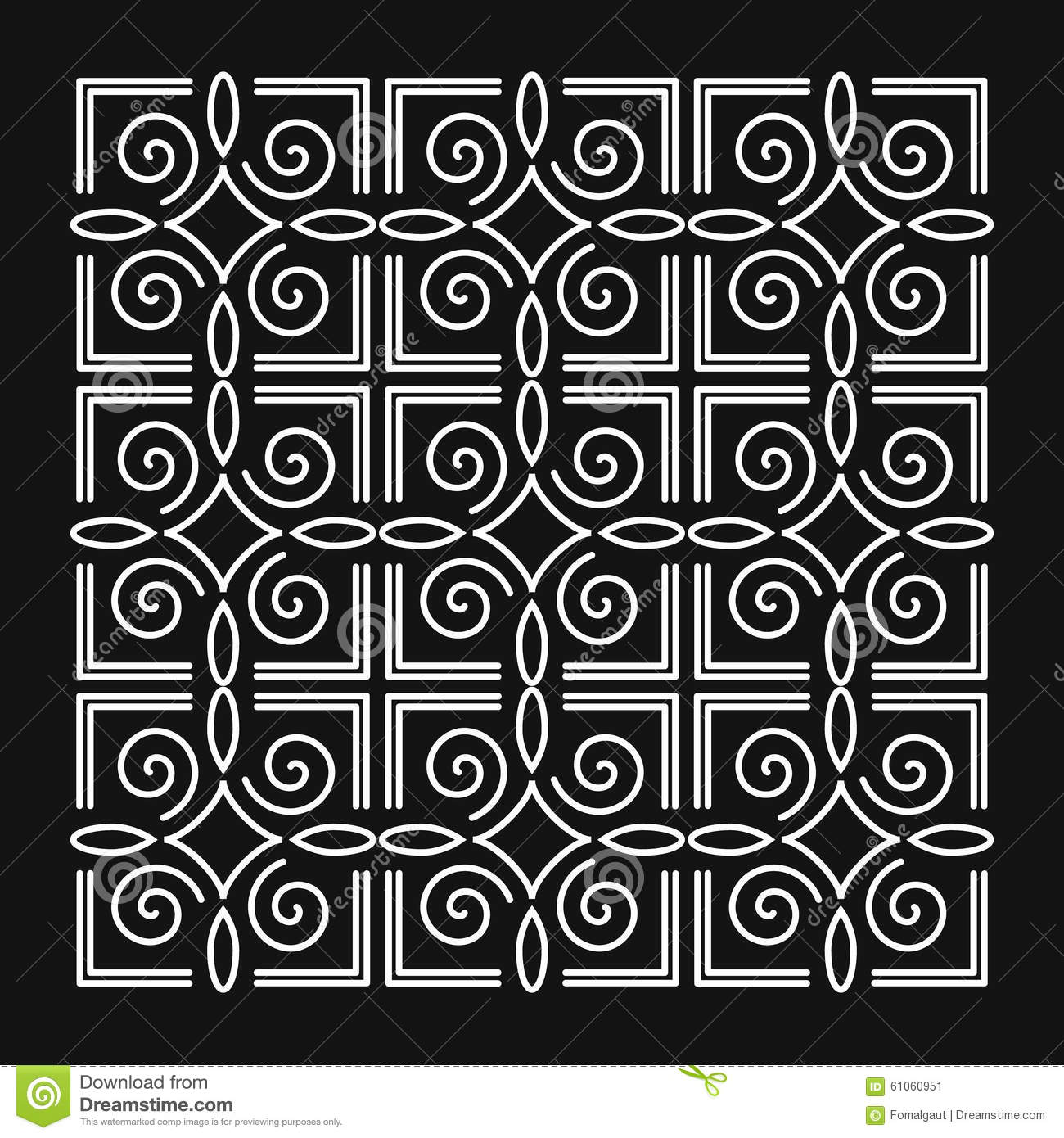 Simple Line Art Background : Simple abstract background monogram design elements