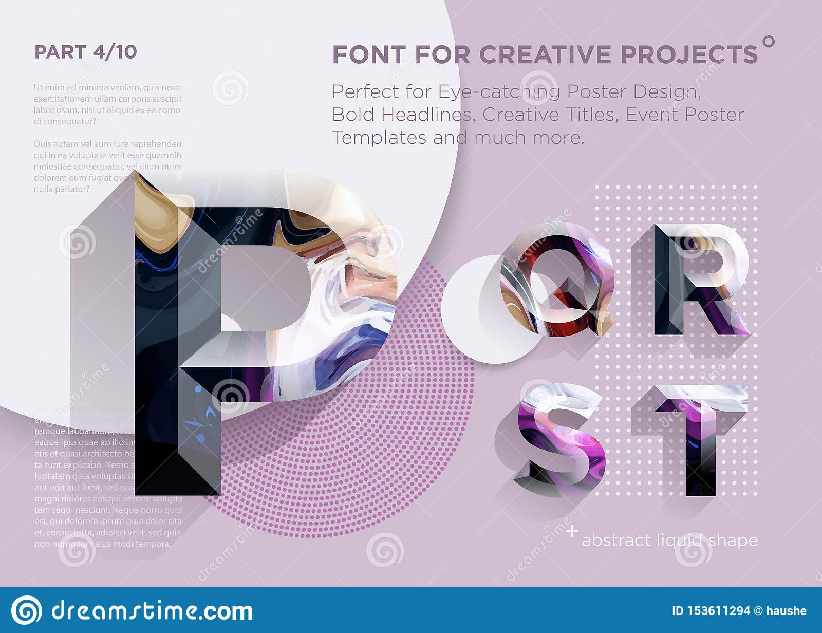 Simple Abstract Geometric Font. Perfect for Bold Headlines, Poster Designs, Creative Titles, Event Poster Template.