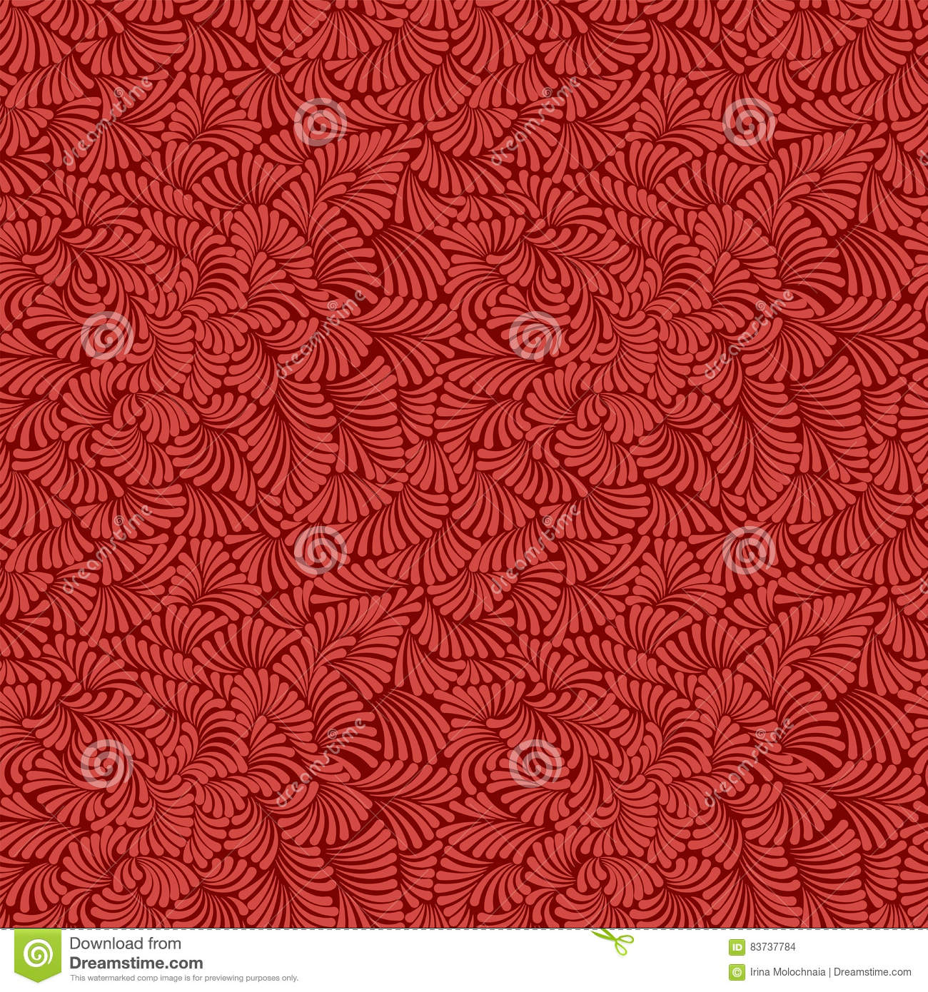 Simple And Beautiful Seamless Pattern For Design Royal Red