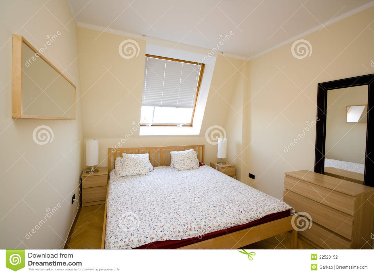 Simple bedroom  Simple Bedroom Stock Photography Image 22520152. Simple Bedroom
