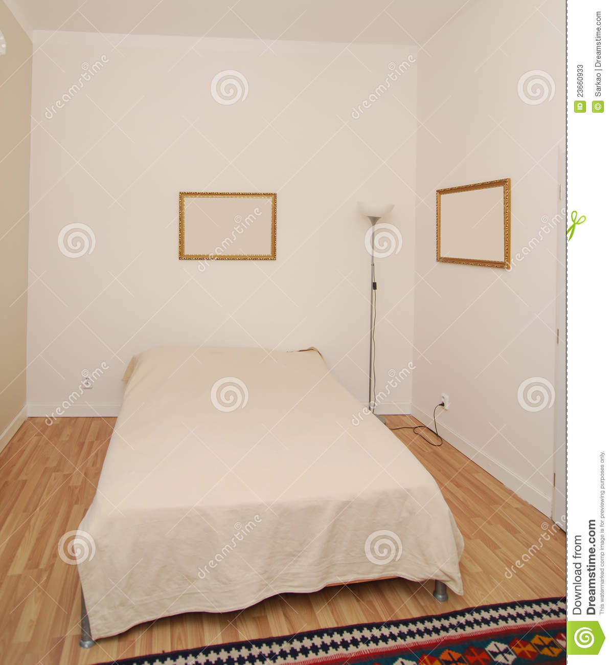 simple bedroom stock image image of carpet furniture