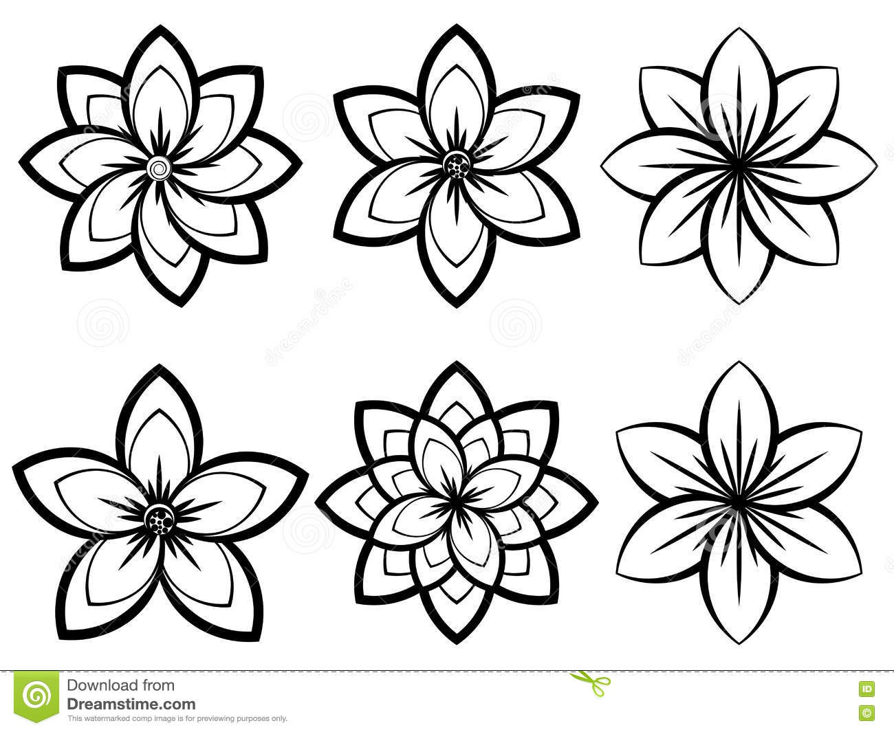 Excellent simple black and white flower pictures inspiration beautiful simple black and white flowers images images for wedding mightylinksfo Choice Image