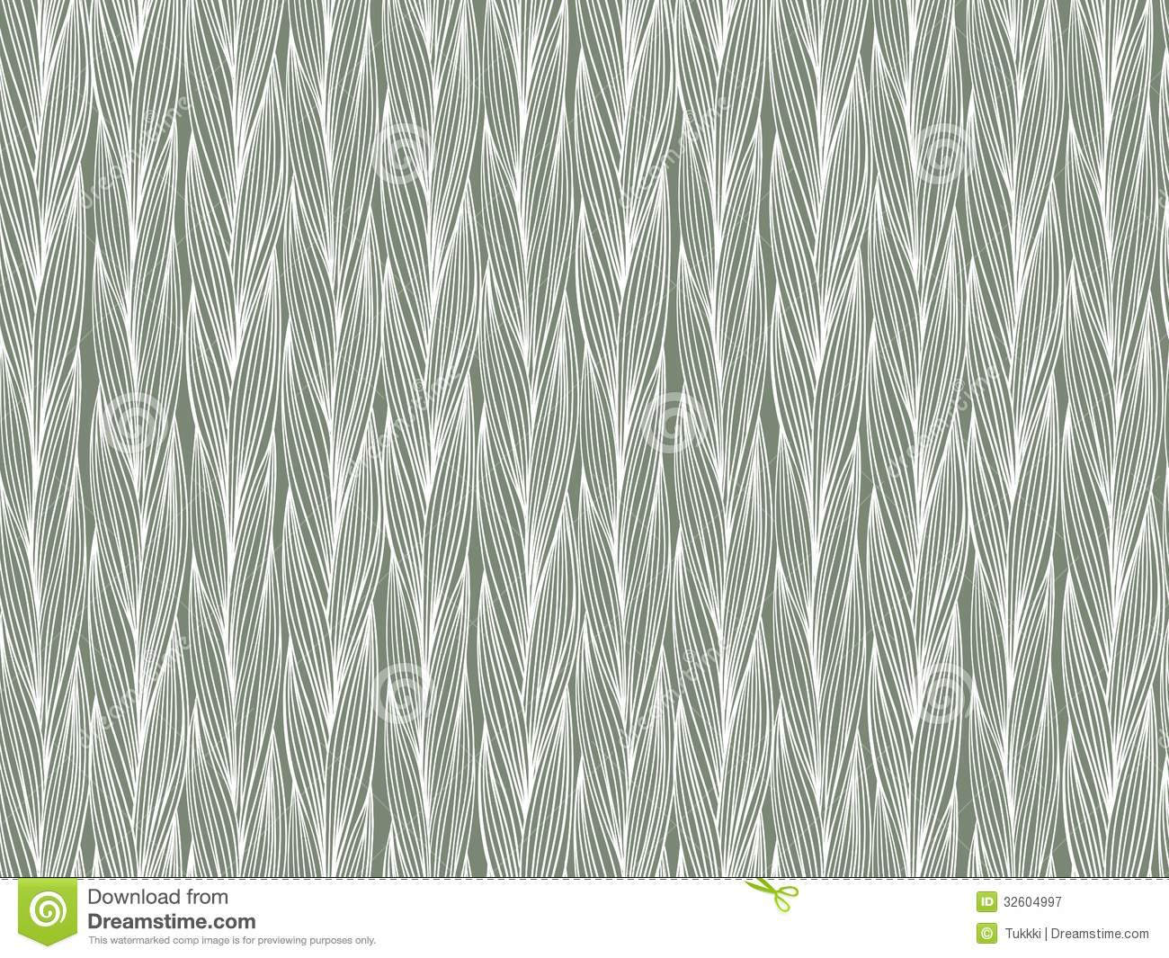 Line Texture Design : Simple bold vector seamless pattern with braids royalty