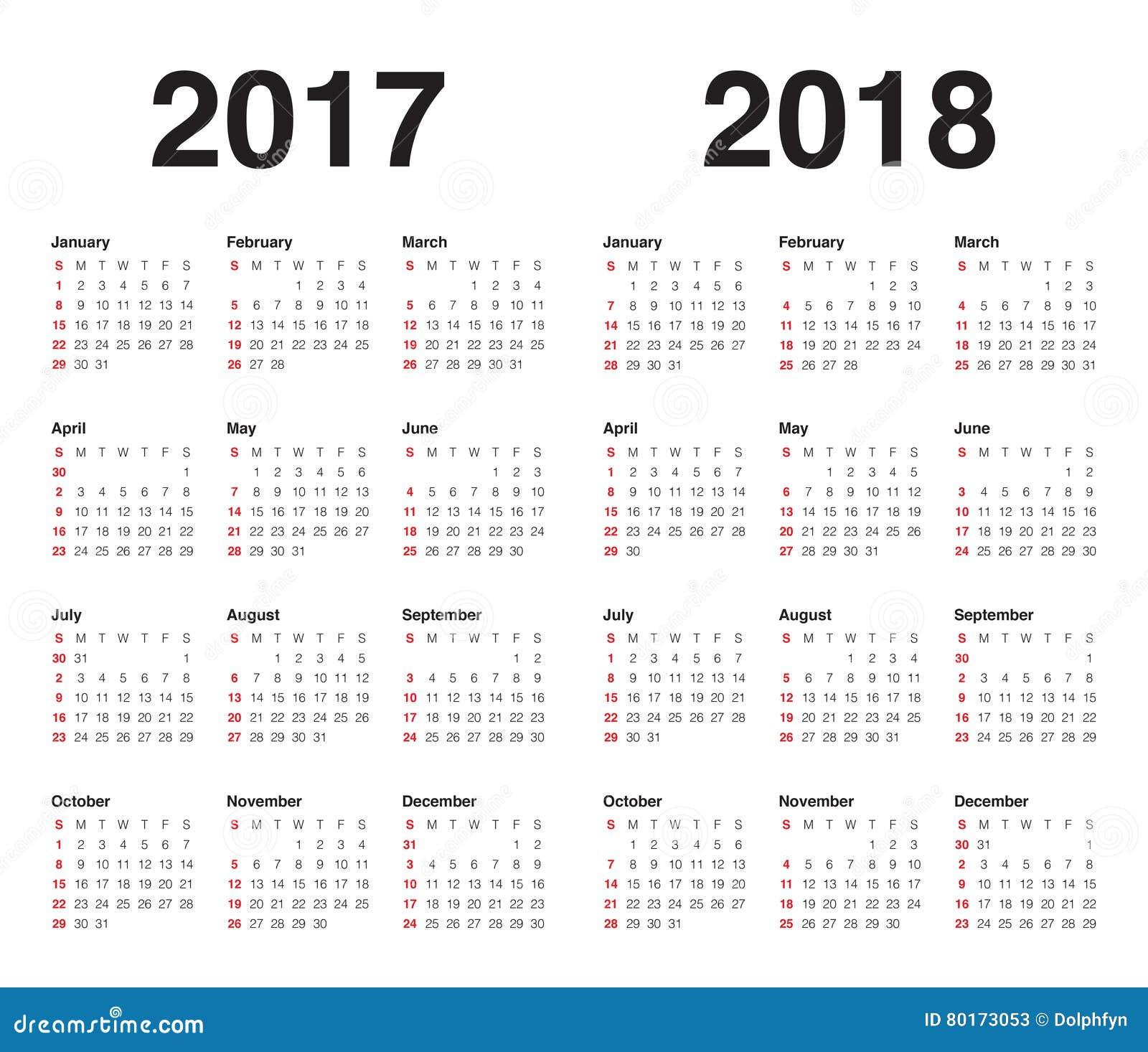 Календари на июнь 2017-2018