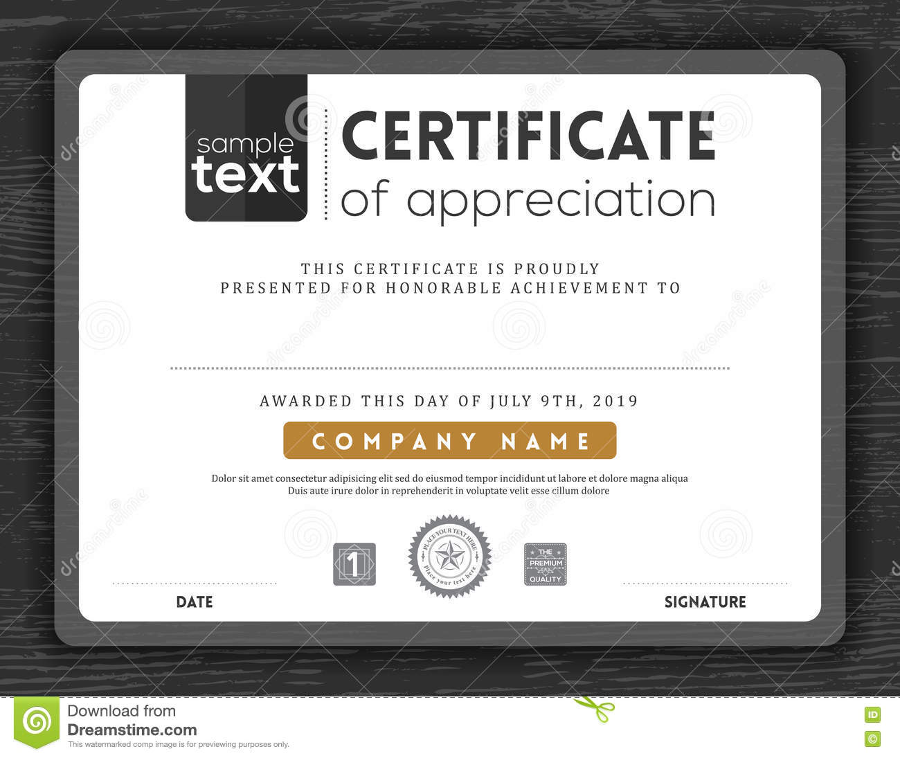 Simple certificate border frame design template stock vector simple certificate border frame design template royalty free vector yadclub Image collections