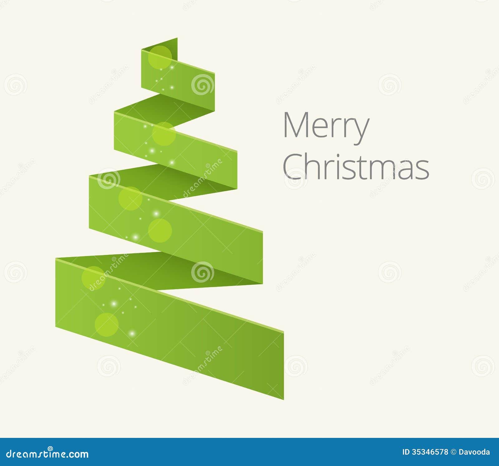 Simple Christmas Tree Royalty Free Stock Photos - Image: 35346578