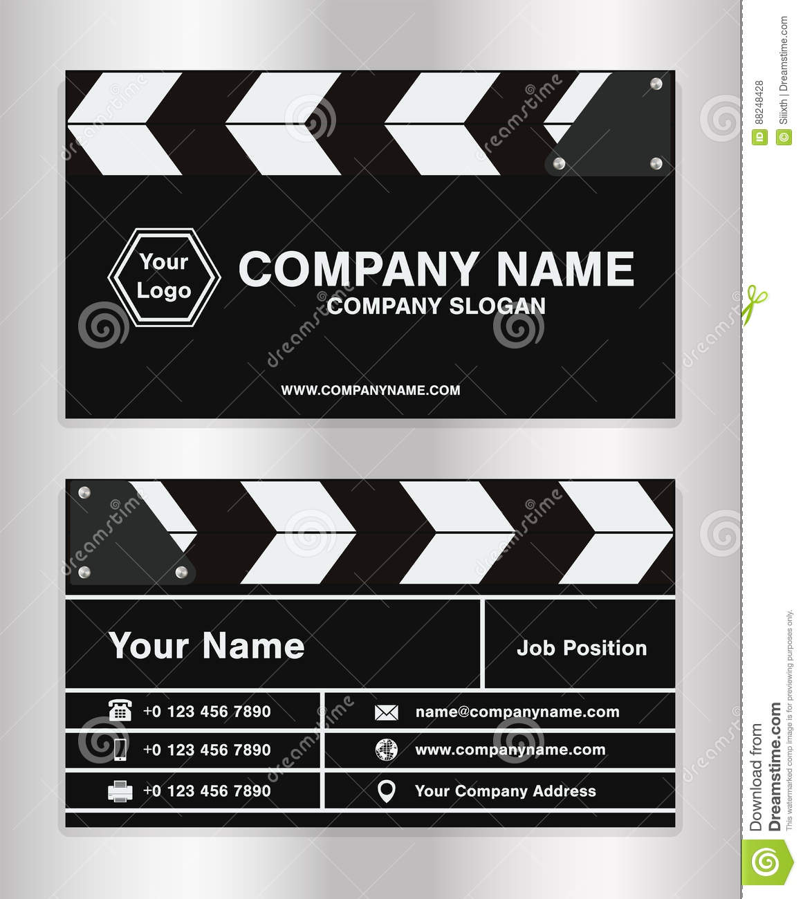 Clapper Board Template Free