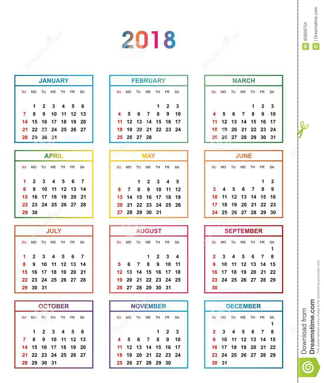 Months Of The Year Calendar Lexu Tk