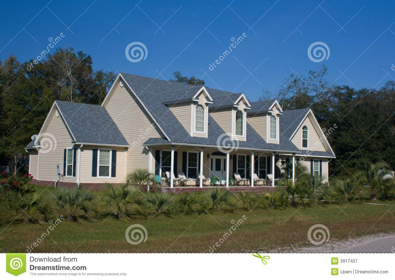 Simple country home royalty free stock photography image for Minimalist country house